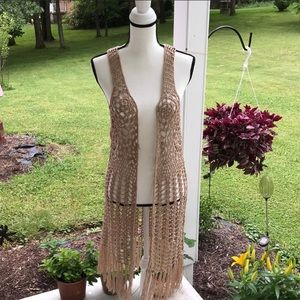 Large Umgee Women's Knitted Vest